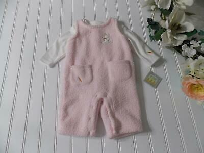 £21.82 • Buy NWT Bunnies By The Bay Baby Girl Sherpa GIVE GLAD DREAMS Romper Outfit 0-3 Month