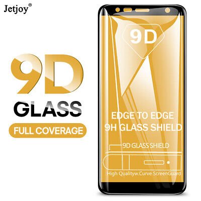 AU3.36 • Buy 9D Full Cover Screen Protector Tempered Glass For Samsung Galaxy A9 A7 2018 M30