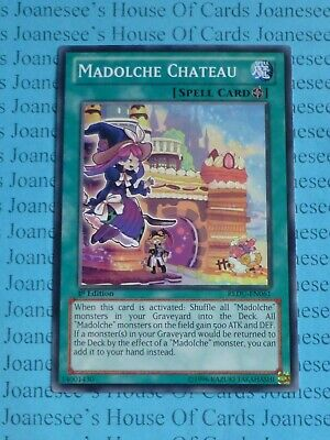 Madolche Chateau REDU-EN061 Common Yu-Gi-Oh Card 1st Edition New • 2.75£