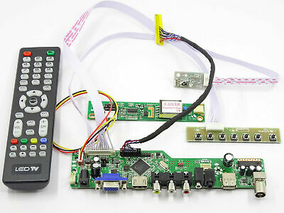 $19.90 • Buy (HDMI+DVI+VGA) LCD LED Lvds Controller Driver Board Kit For LTN154X3-L01