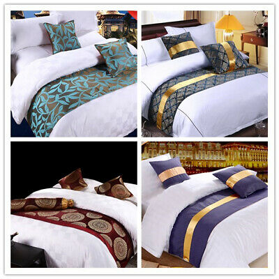 AU13.49 • Buy Hotel Bed/Bedding Scarf Wedding Party Dining Table Runner Home Bedroom Decor