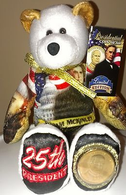 $9.99 • Buy William McKinley Dollar Coin Bear #25 By Limited Treasures