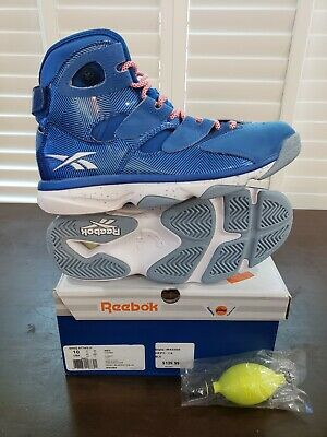 4a02ed965e2 Reebok Shaq Attaq IV   Size 10   New With Box   Blue White   Shaquille