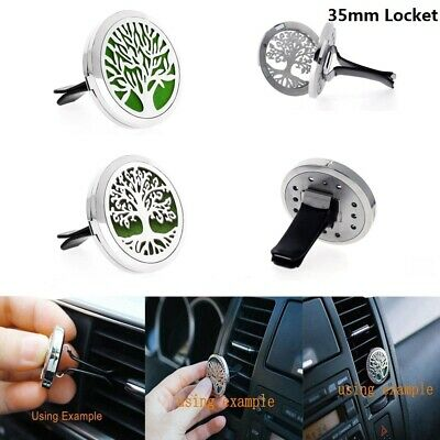 AU1.63 • Buy 35MM Fragrance Essential Oil Diffuser Steel Car Air Vent Freshener Aromatherapy