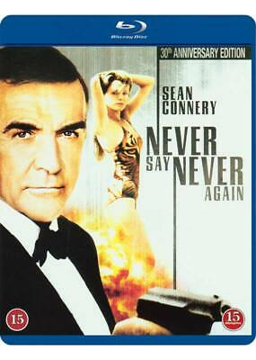 $36.99 • Buy Never Say Never Again 007 Sean Connery IMPORT Blu-Ray NEW - USA Compatible