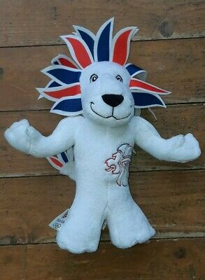 London 2012 - 13  Lion Plush Olympic Games Team GB Mascot Soft Toy Collectable • 10£