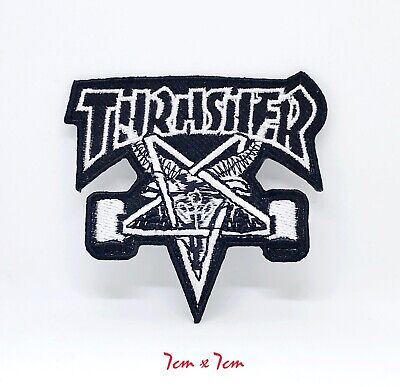 £1.98 • Buy New Thrasher Badge Logo Embroidered Iron Sew On Patch #111