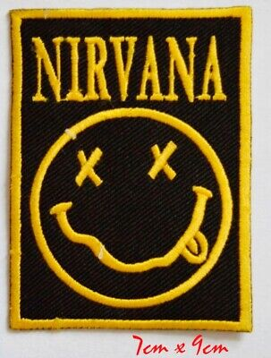 £1.98 • Buy Nirvana Rock Music Band EmbroideredIron Or Sew On Patch