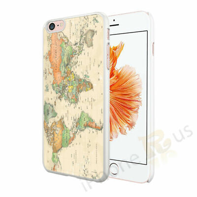 Old World Map Phone Case Cover For Apple IPhone Samsung Huawei OD42 • 4.90£