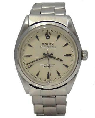$ CDN4924.27 • Buy 1956 Stainless Steel Rolex Oyster Perpetual Automatic Vintage Watch 34mm 6564