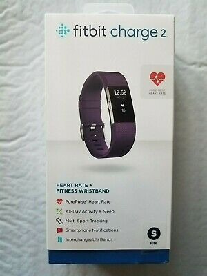 $ CDN152.88 • Buy Fitbit Charge 2 Heart Rate + Fitness Wristband FB407SPMS   Size Small