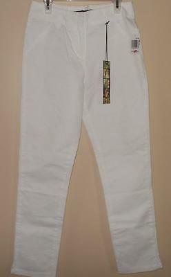 $8 • Buy New Junior 1 FREESTYLE Revolution White Crop Pants Stretch NWT