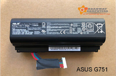AU65 • Buy Original Battery For Asus ROG G751 G751J G751JL G751JM G751JT A42N1403