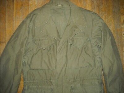 $175 • Buy Vtg 40 Wwii M-43 Button Army Military Green Field Jacket