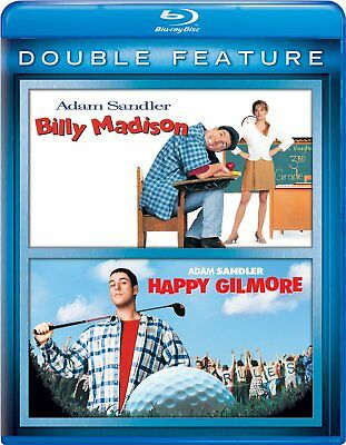 AU37.95 • Buy Billy Madison / Happy Gilmore Hi-def Blu Ray 2 Discs Adam Sandler