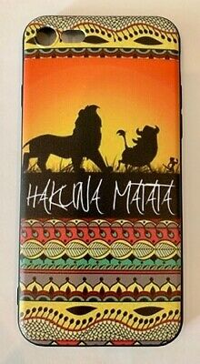 AU12.45 • Buy NEW IPhone 7/8 Disney The Lion King Hakuna Matata Soft Phone Case