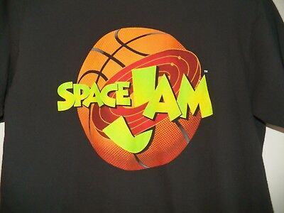 2358b47218b8c4 Vintage SPACE JAM Michael Jordan Men s Warner Brothers Cartoon Movie T-Shirt  L • 19.99
