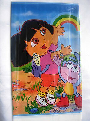 Plastic Table Cover Children Birthday Party Tableware Tablecloth DORA • 2.49£