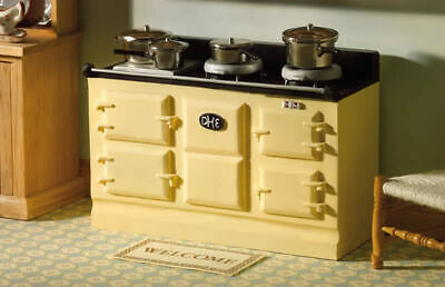 1/12 Scale Dolls House Emporium Large Cream Aga-style Stove 2959 • 12.20£