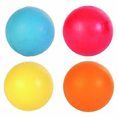 £24.99 • Buy Trixie Pack Of 4 Balls, Natural SOLID HEAVY Rubber Dog Ball - 5cm 6cm 7cm Or 8cm