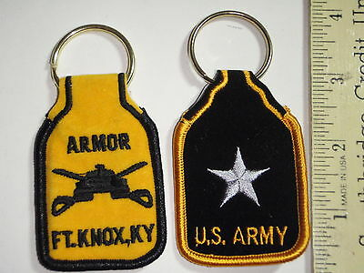 £9.30 • Buy United States Army Key Chains Armor Ft. Knox New York Recon Ccc Ccn Airborne