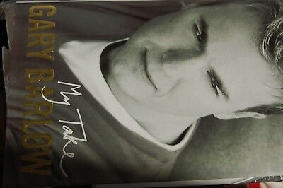 Gary Barlow My Take Signed Autobiography • 14.99£