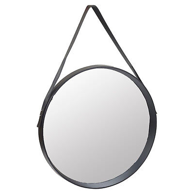 50cm Round Inset Design Wall Hanging Mirror Modern Hallway Home Decor Mounted • 28.99£