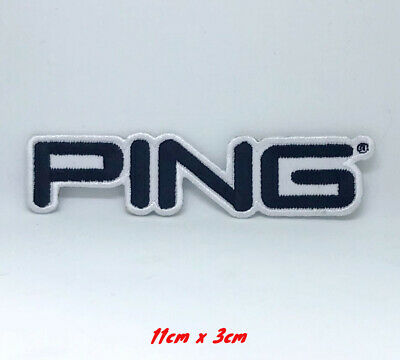 Ping Golf Title Embroidered Iron On Sew On Patch #170 • 1.99£