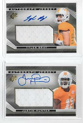 $5.99 • Buy 2013 SPx - JUSTIN HUNTER  Autograph Jumbo Game Jersey - TENNESSEE VOLS #d472/475