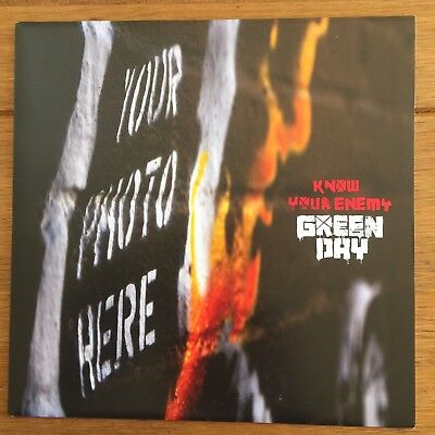 Green Day - Know Your Enemy 7  Vinyl Different Cover • 14.95£