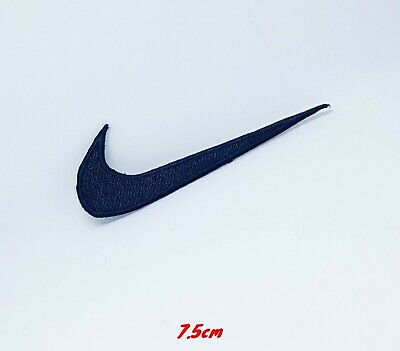 Sports Badges Logo Colourful Nike Black Embroidered Sew On Iron On Patch • 1.99£