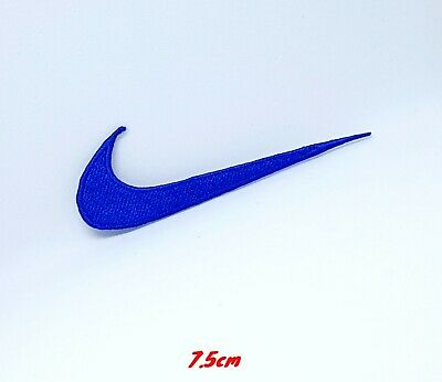 Sports Badges Logo Colourful Nike Blue Embroidered Sew On Iron On Patch • 1.79£