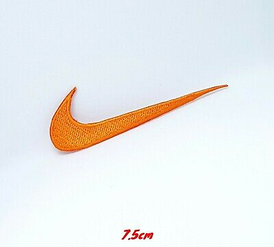 Sports Badges Logo Colourful Nike Orange Embroidered Sew On Iron On Patch • 1.99£