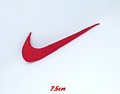 Sports Badges Logo Colourful Nike Red Embroidered Sew On Iron On Patch • 1.79£