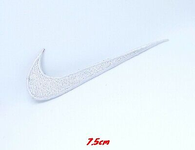 Sports Badges Logo Colourful Nike White Embroidered Sew On Iron On Patch • 1.85£