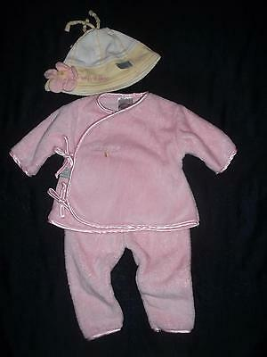 £14.54 • Buy Bunnies By The Bay Baby Girls 0-3M Pink Clothes Outfit Hat Lot 0 3 Months Reborn