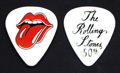 The Rolling Stones 50th Anniversary Promotional Guitar Pick #16 - 2012 Grrr! • 7.40£