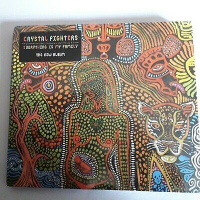 Crystal Fighters Everything Is My Family Cd New Sealed 2016 Release Free Uk Fast • 7.60£