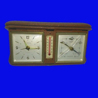 AU294.82 • Buy  8-Day Travel Clock & Thermometer & Barometer, Weather Station,1930