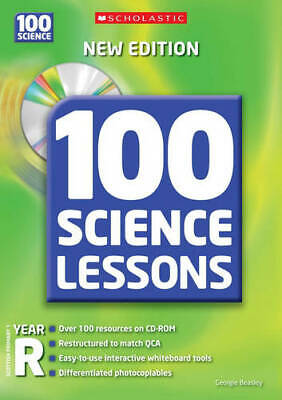 £9.45 • Buy 100 Science Lessons For Year Reception With CD-Rom, Beasley, Georgie, NewBooks