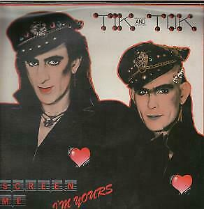 TIK AND TOK Screen Me 12 INCH VINYL UK Issue Pressed In France Survival 1984 3 • 3.40£