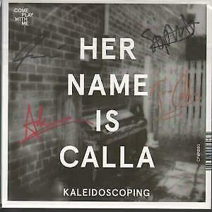 HER NAME IS CALLA / DEADWALL Kaleidoscoping / Talk 7 INCH VINYL UK Come Play • 4.55£