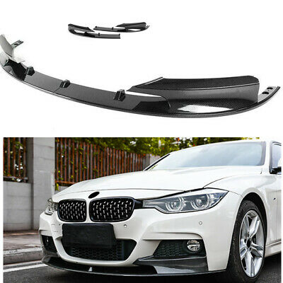 AU127 • Buy Front Bumper Cover Lip Carbon Fiber Style Surface For 2012-18 BMW F30 3 Series M