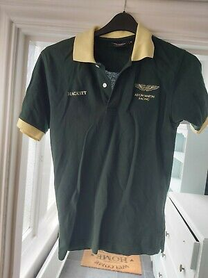 Hackett Aston Martin Polo Shirt DBR9 Aston Martin Racing • 9£