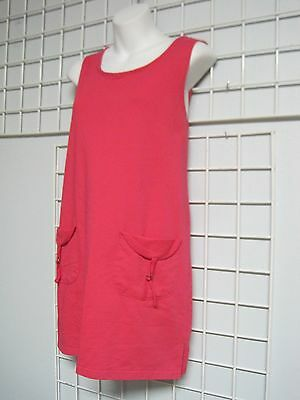 $12.99 • Buy Sun Casuals Size Small Bathing Suit Coverup Dress In Pink