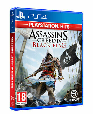 PlayStation Hits - Assassins Creed 4: Black Flag PS4 • 16.99£