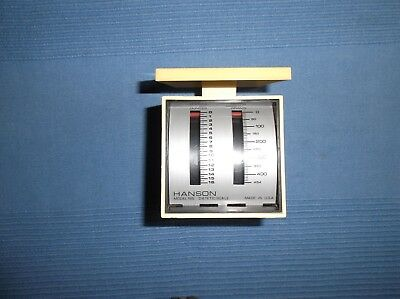 Vintage Hanson Dietetic Scale, Model 185, Up To 16 Oz. & 454 Grams • 2.91£