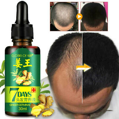 AU8.05 • Buy Regrow 7 Day Ginger Germinal Hair Growth Serum Hairdressing Oil Loss Treatement