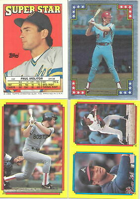 $2 • Buy 1988 Topps Baseball Sticker & Stickerback Variations Listing 2 Of 3 You Pick!
