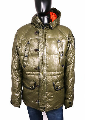 AU116.76 • Buy Pull And Bear Mens Down Jacket Hood Size XL